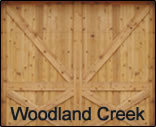 Residential Garage Door Model Woodland Creek